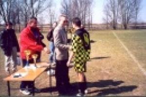 Mistrzostwa Powiatu w Piłce Nożnej Chłopców Sz