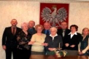 Spotkanie Starosty Kępińskiego z emerytami i ren