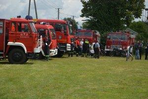 Strażackie pojazdy zjechały do Świby