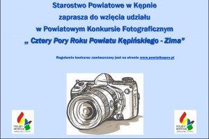 """Ogłoszenie Konkursu Fotograficznego """"Cztery Pory"""