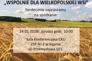 Wspólnie dla Wielkopolskiej Wsi