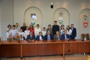 Nagrody dla pływaków z ZSS w Słupi