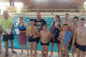 Mistrzostwa Wielkopolski w pływaniu - wielki sukc