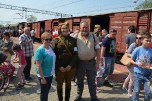 Tłumnie witano Pociąg Repatriantów