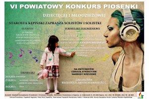 VI Powiatowy Konkurs Piosenki Dziecięcej i Młodz