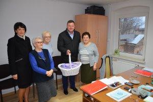 Świąteczna wizyta u Seniorów