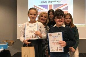 Sukces uczniów ZSS w konkursie języka angielskie