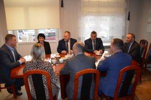 Konsultacje Starosty Kępińskiego z Burmistrzem M