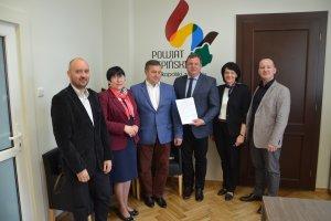 Umowa z Gminą Łęka Opatowska