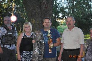 Zawody wędkarskie o Puchar Starosty Kępińskiego