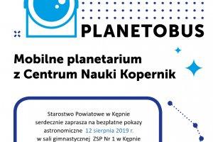 Planetobus zawita do Kępna