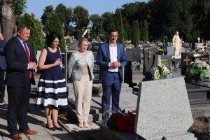 Premier odwiedził grób powstańca wielkopolskieg