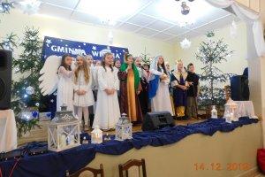 Spotkanie wigilijne w Pomianach