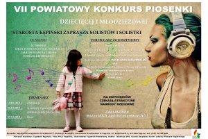 Lista finalistów VII Powiatowego Konkursu Piosenk