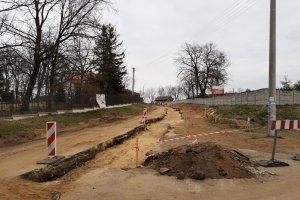 Prace drogowe w Trzcinicy postępują