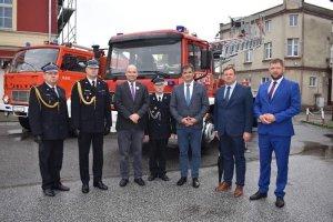 Przekazanie pojazdów pożarniczych