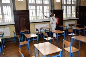 Dezynfekcja pomieszczeń Szkół Ponadpodstawowych