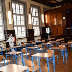 Dezynfekcja pomieszczeń Szkół Ponadpodstawowych w Kępnie
