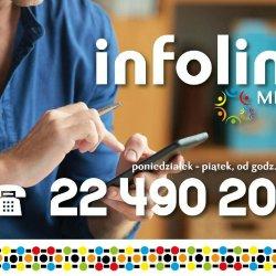 Infolinia migrant, poniedziałek - piątek, od godz. 9.00 do 17.00. tel 22 490 20 44