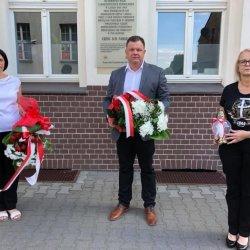 Starosta Kępiński Robert Kieruzal,Wicestarosta Kępiński Alicja Śniegocka, Przewodnicząca Rady Powiatu Kępińskiego