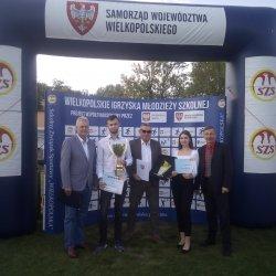 Na zdjęciu: Zdzisław Urbańczyk - Prezes Szkolnego Związku Sportowego