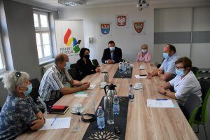 Posiedzenie Powiatowej Społecznej Rady do Spraw O