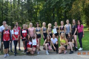 Sztafetowe Mistrzostwa Powiatu w Biegach Przełajo
