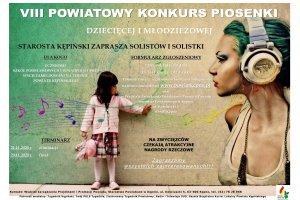VIII Powiatowy Konkurs Piosenki Dziecięcej i Mło