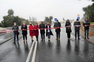 Droga powiatowa Laski - Trzcinica oddana do użytk