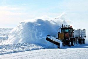 Zimowe utrzymanie dróg na terenie powiatu