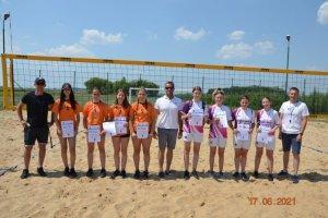 Mistrzostwa Powiatu w Siatkówce Plażowej Dziewcz