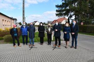 Konferencja w sprawie przebudowy drogi powiatowej