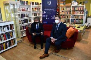 Spotkanie z okazji Dnia Bibliotekarza i Bibliotek