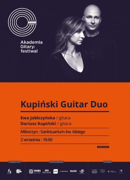 Zaproszenie na koncert KUPIŃSKI GUITAR DUO