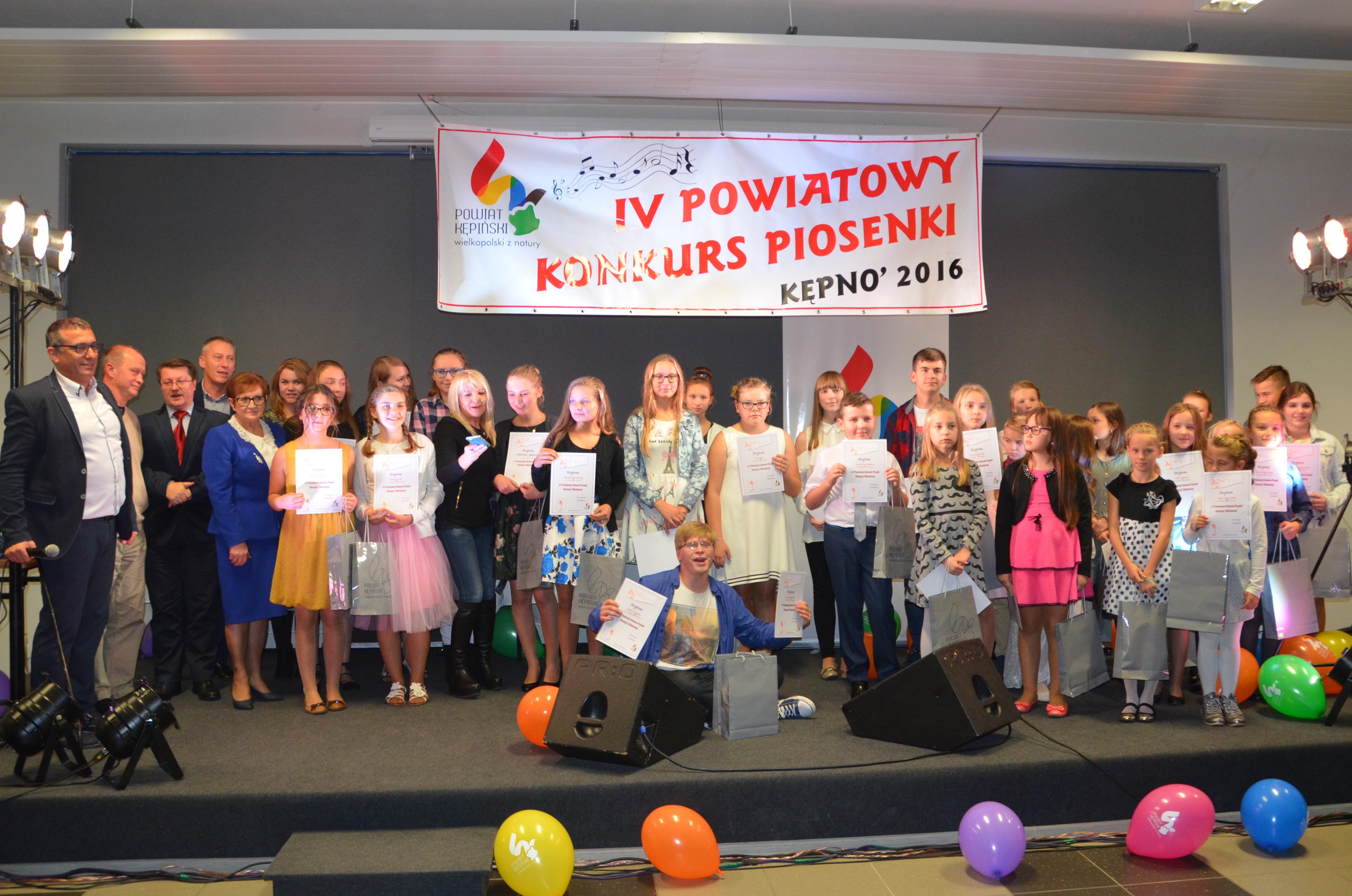 Finał IV Powiatowego Konkursu Piosenki