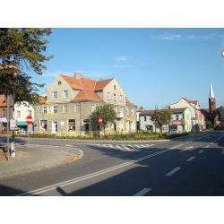 Zdjęcie modernizowanych ulic powiatowych