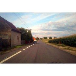 Zdjęcie modernizowanej drogi