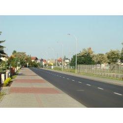 Zdjęcie modernizowanej ulicy