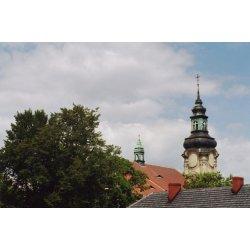Zdjęcie wieży kościoła
