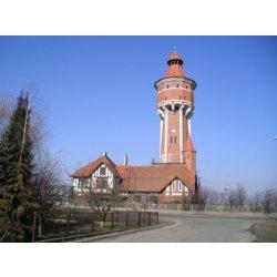 Zdjęcie całej wieży wodociągowej
