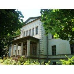 Zdjęcie pałacu w Słupi pod Kępnem od frontu